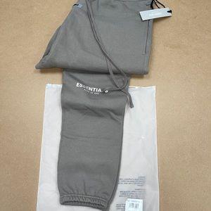 Essentials Fear of God Charcoal Grey Sweatpants XL